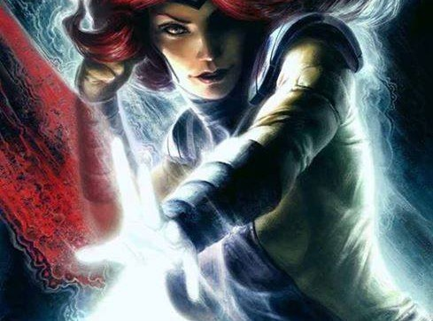 Jean Grey the Phoenix by Fabian Schlaga