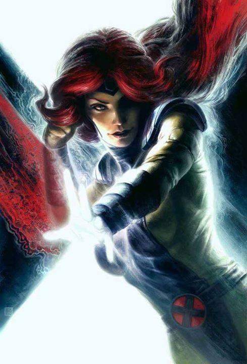 Jean Grey the Phoenix by Fabian Schlaga