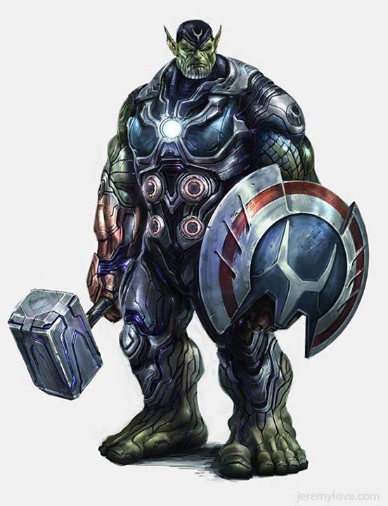 4 in 1 avengers