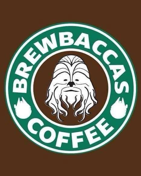 chewbacca coffee starwars