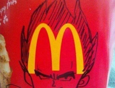 dbz vegeta fries