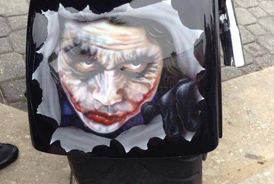 joker motorcycle paint